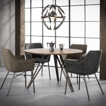 Table à manger ronde HELSINKI réf.30021991