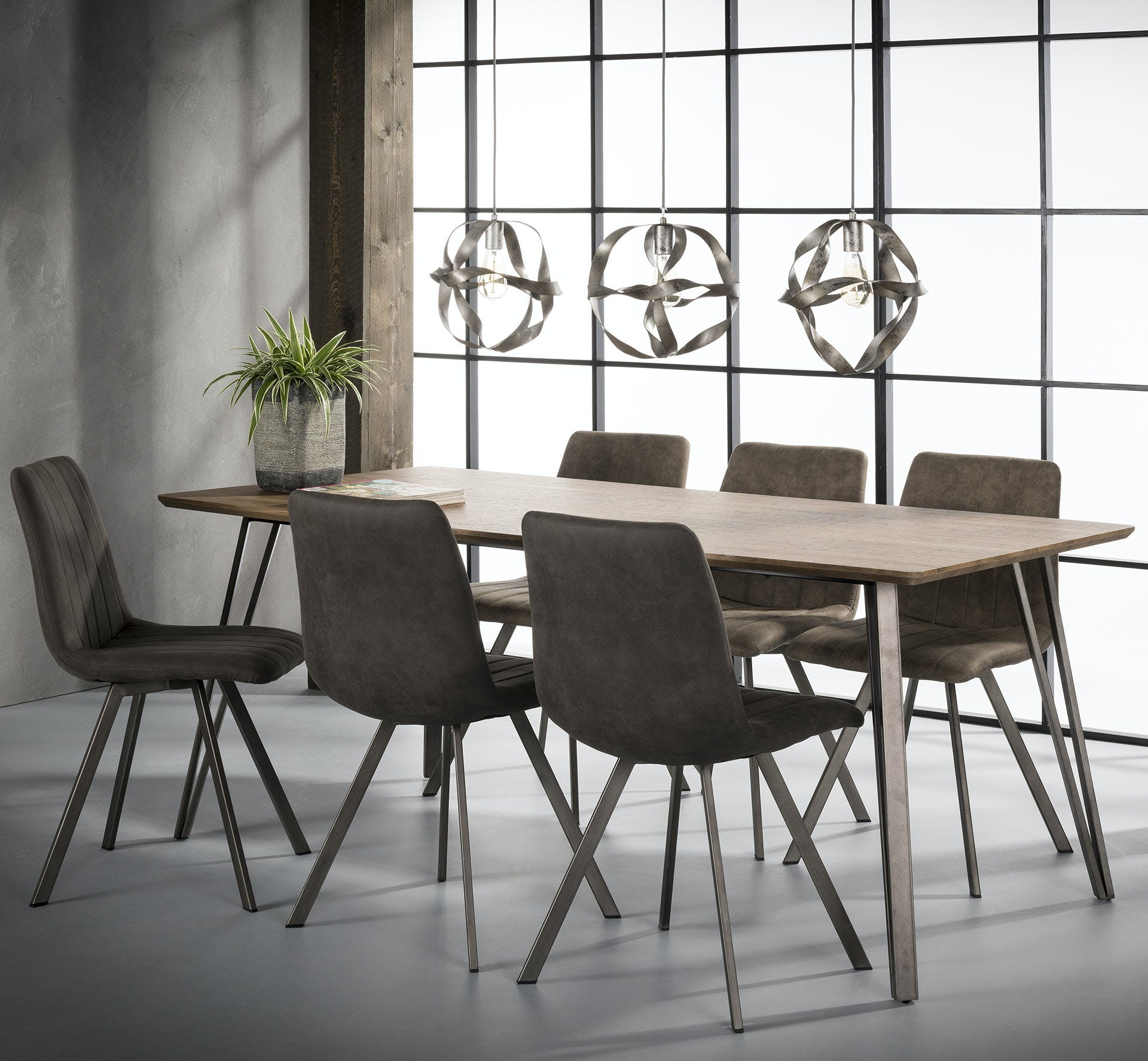 Table à manger rectangulaire HELSINKI réf.30021992