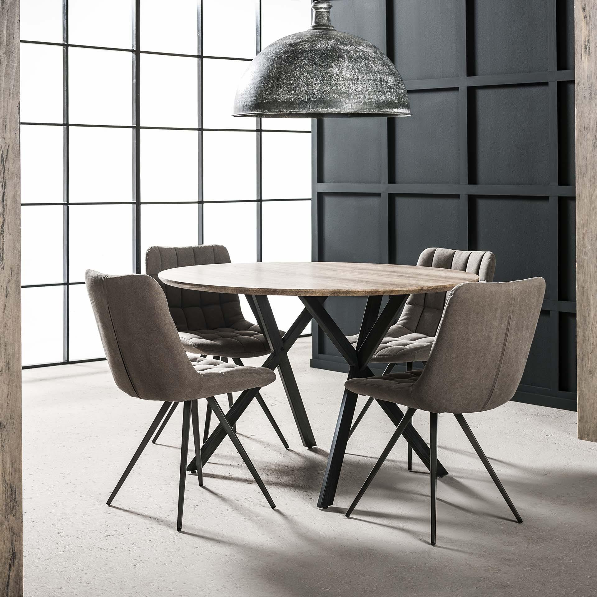 Table à manger ronde D120 HELSINKI
