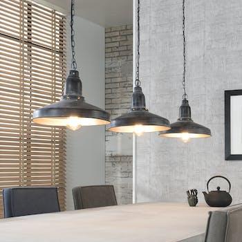 Suspension 3 lampes métal RALF réf.30021997