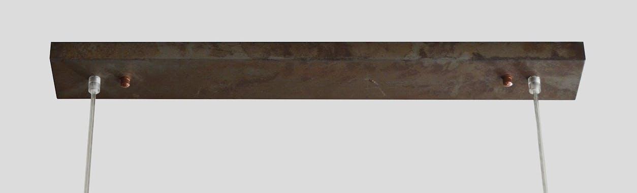 Suspension ajourée métal 5 lampes RALF réf.30022000