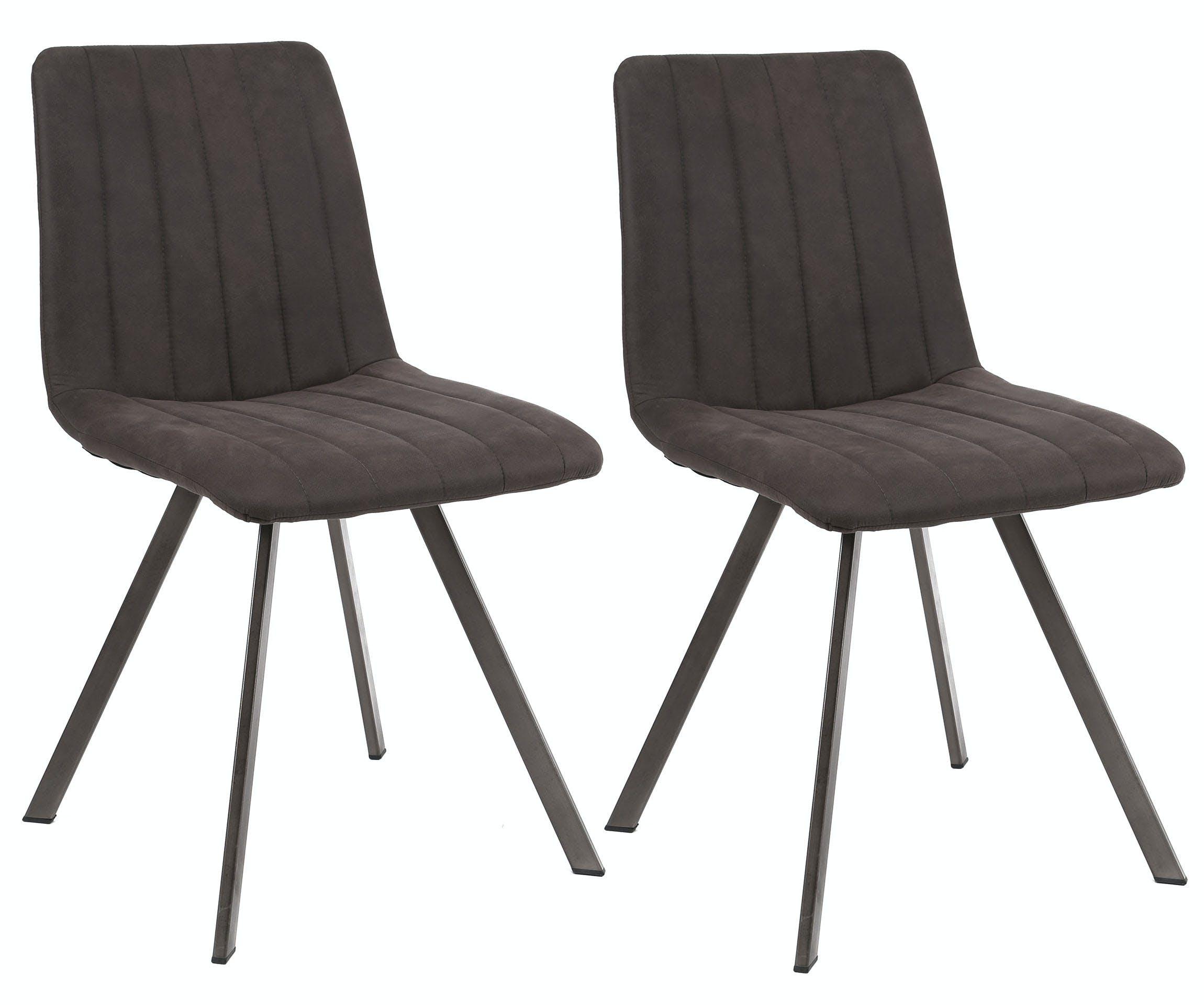 Lot de 2 chaises salle à manger JAVA réf.30022002