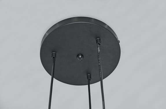 Suspension 3 lampes tourbillon