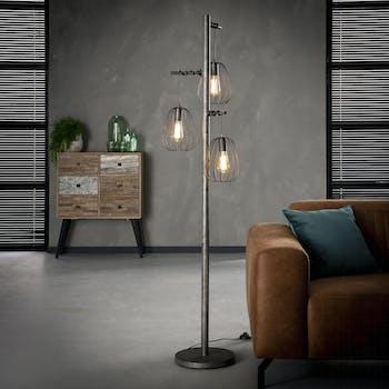 Lampadaire salon 3 lampes LAMPHUN