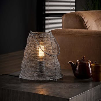 Lampe industrielle maille RALF