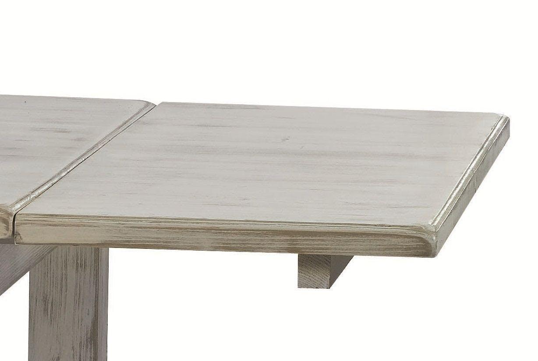 Allonge 50cm Pin pour table repas 160cm RIVAGE