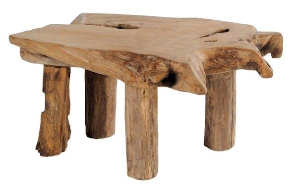 Table basse teck massif ARIZONA