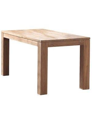 Table à manger bois de teck massif 150-250 RIO