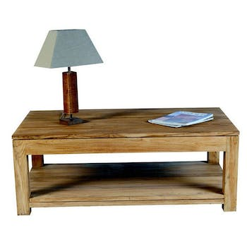 Table basse double plateau 120x70cm RIO