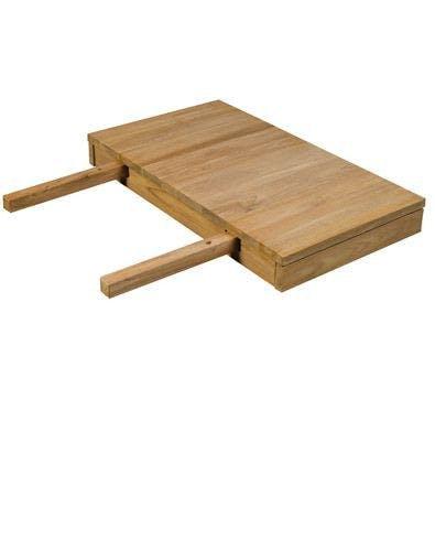 Allonge 50cm Teck pour table repas 150, 180 et 220cm RIO