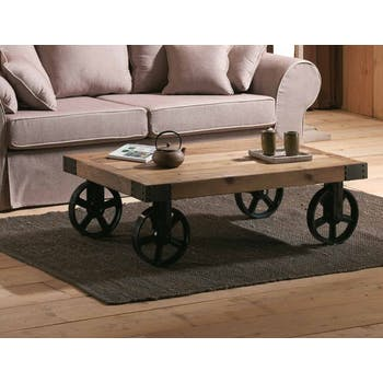 Table basse industrielle | Pier Import