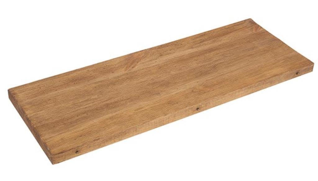 Allonge de 40cm pour table Campagnarde 110cm Pin brossé lasuré LAUSANE