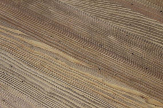 Table ronde pieds tournés 110/150cm Pin ciré HANNOVER
