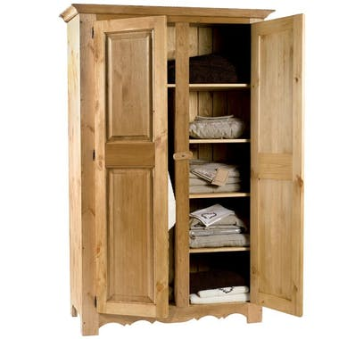 Armoire pin massif HANNOVER