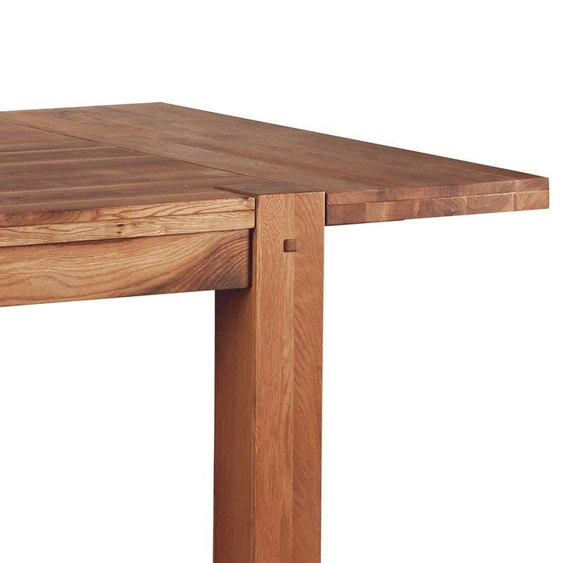 Allonge 40cm Chêne huilé pour table carrée 120cm FJORD