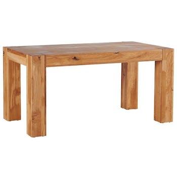 Table de repas extensible chêne huilé 160/260cm ROMEO