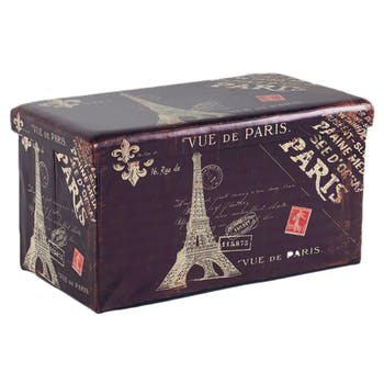 Banc avec rangement Paris L76xP40,5xH41 ROTA