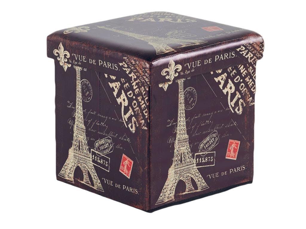 Pouf coffre Paris L36xP36xH36 ROTA