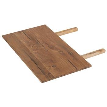 Allonge de table chêne huilé 50cm VALLEY