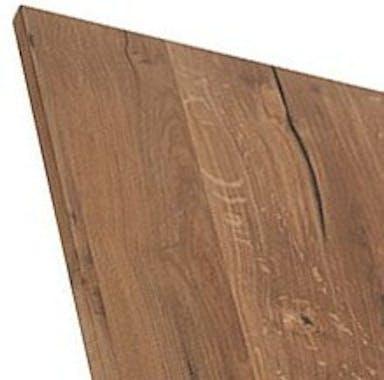 Vaisselier chêne huilé et verre 4 portes 121cm VALLEY