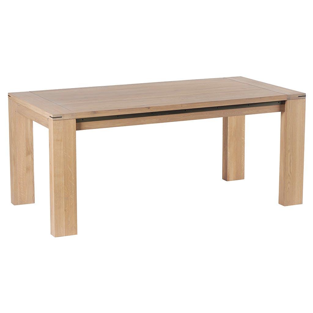 Table de repas Chêne ciré 180x90x76cm CUBA