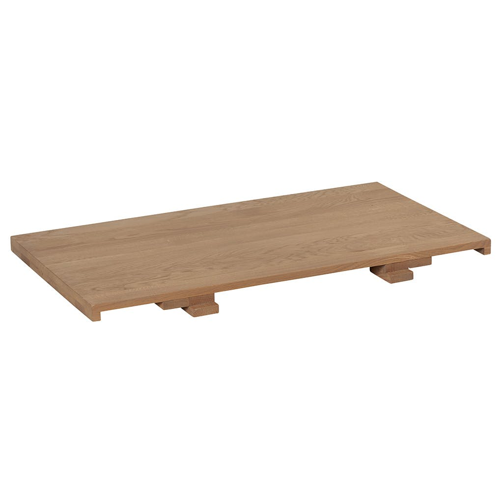 Allonge 50cm pour table DARIO 180cm Chêne massif ciré 50x90cm DARIO