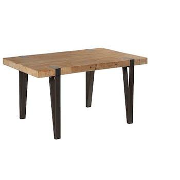 Table à manger rectangulaire bois massif 150 EPIKA