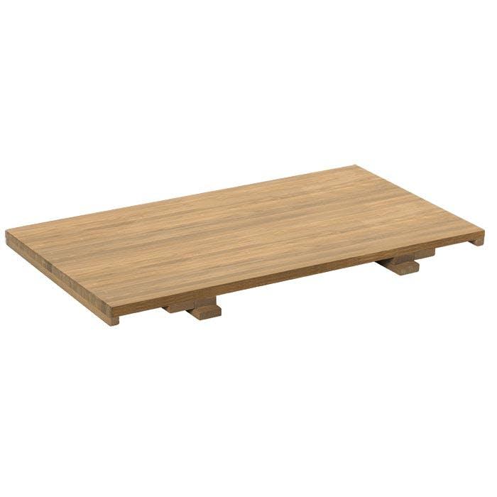Allonge 50cm pour Table repas 160cm MALMOE