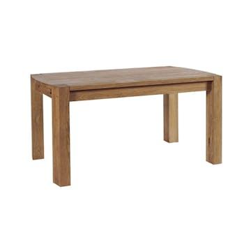 Table de Repas 150cm en Chêne Huilé 150x90x76cm NARVIK