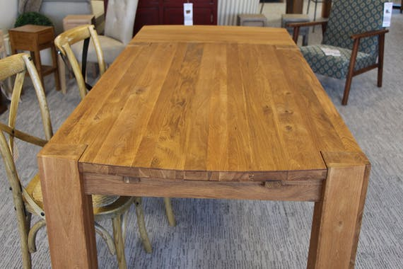 Table de Repas 180cm en Chêne Huilé 180x90x76cm NARVIK