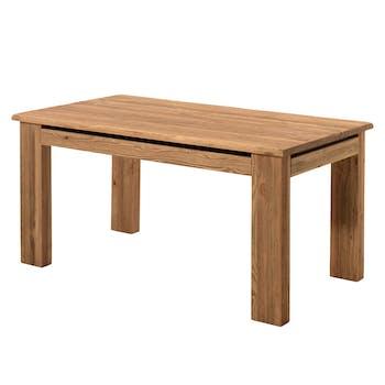 Table de Repas en pin massif brossé 160x90x77cm SHERBROOKE