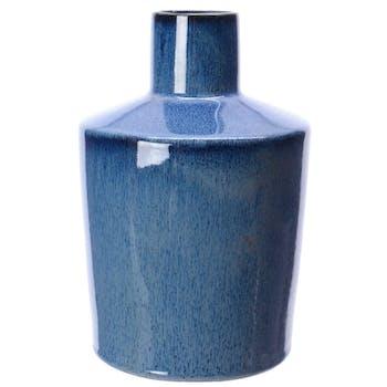 Vase en pierre Bleu H21cm