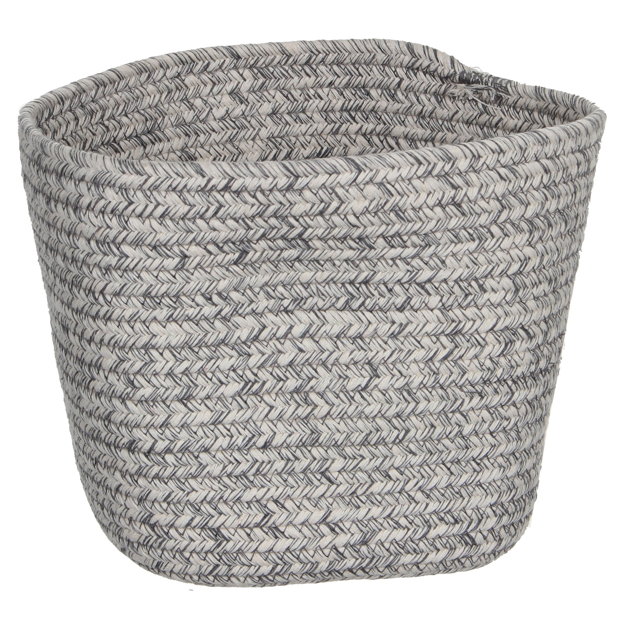 Panier lombock carré gris 15 cm