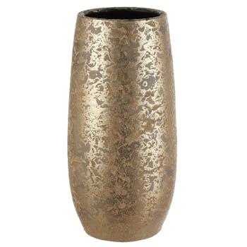 Vase effet doré 35 cm