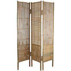 Paravent bambou ajouré 180 cm