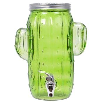 Distributeur à boisson cactus H29cm
