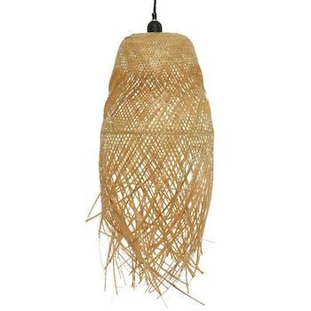 Suspension bambou 37 cm