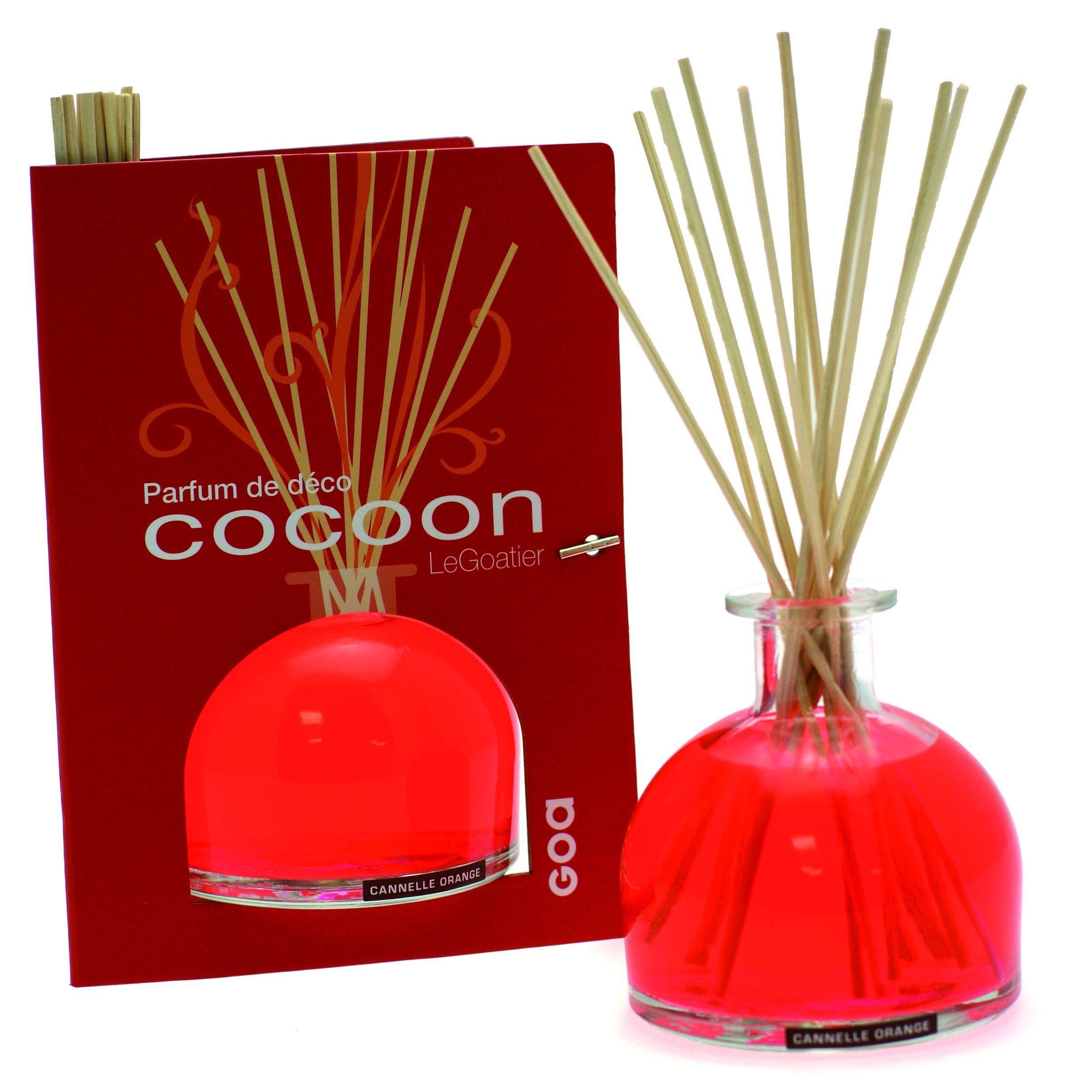 Diffuseur de parfum Cocoon Cannelle Orange CLEM GOA 250ml