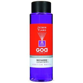 Recharge Jasmin Ylang pour diffuseur de parfum CLEM GOA 250ml