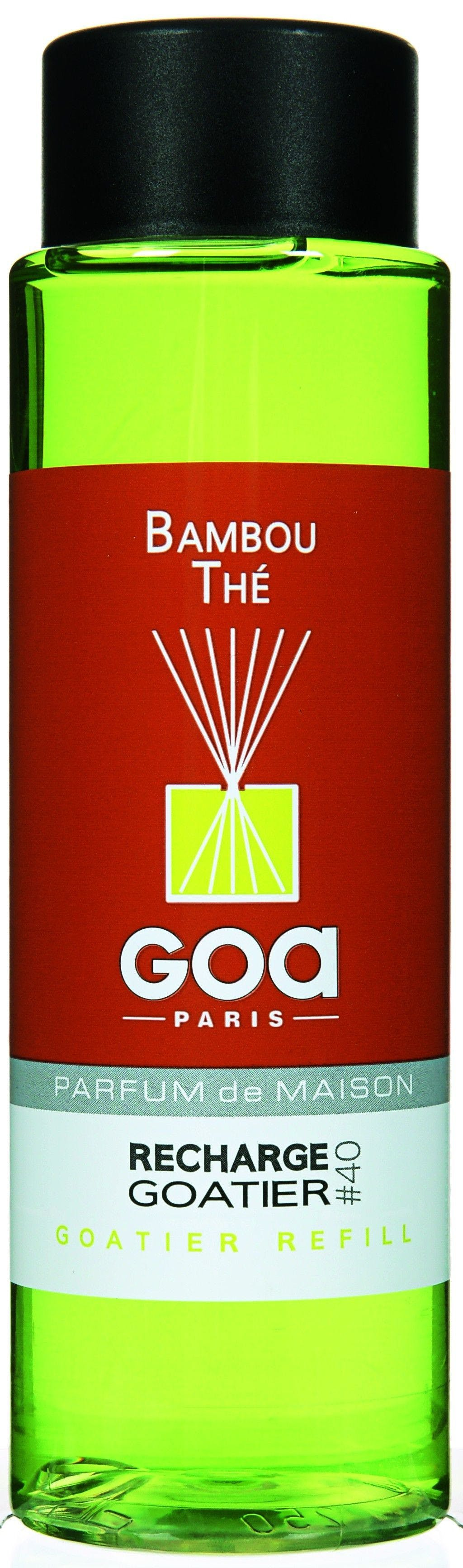 Recharge Bambou Thé pour diffuseur de parfum CLEM GOA 250ml