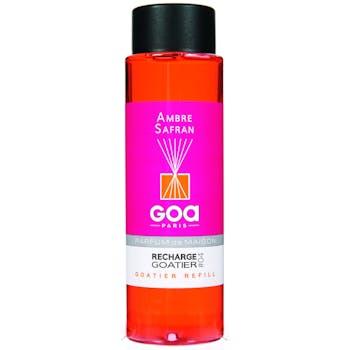 Recharge Ambre Safran pour diffuseur de parfum CLEM GOA 250ml