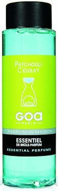 Huile parfumée Patchouli Cédrat pour brule-parfum CLEM GOA 250ml