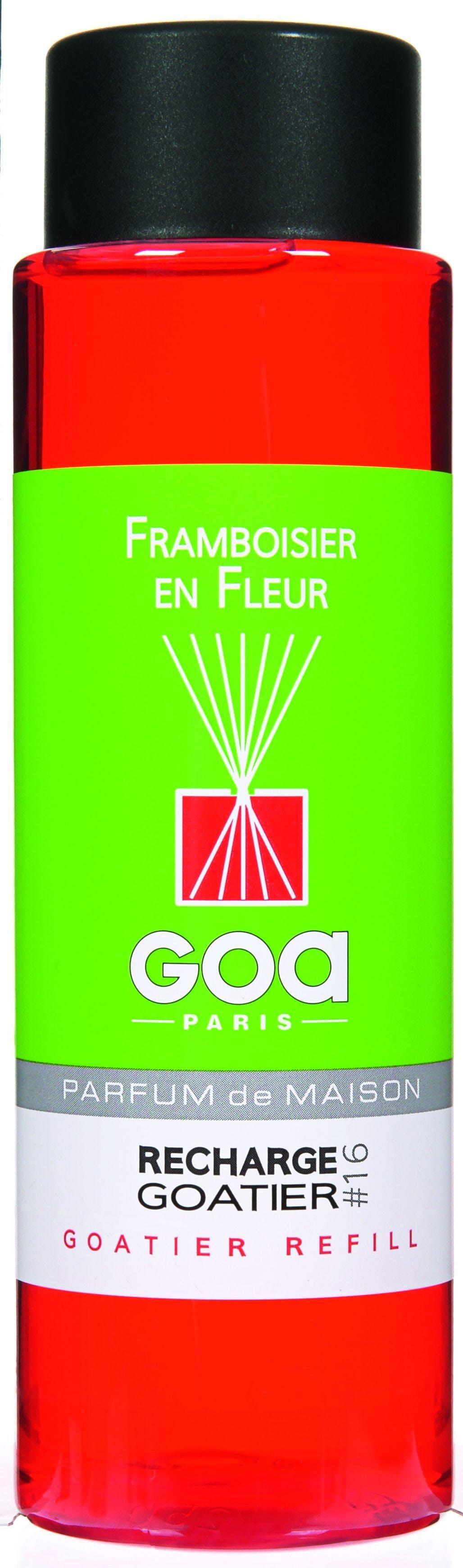 Recharge Framboisier en Fleurs pour diffuseur de parfum CLEM GOA 250ml