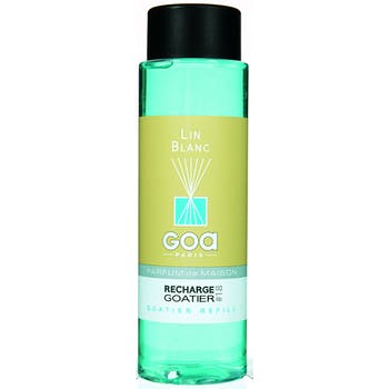 Recharge Lin Blanc pour diffuseur de parfum CLEM GOA 250ml