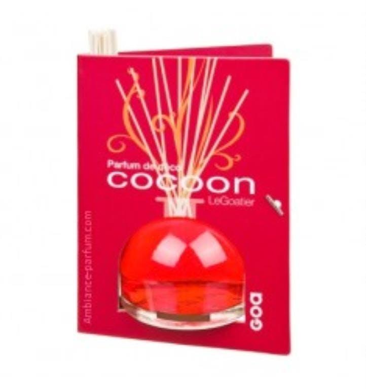 Diffuseur de parfum Cocoon Chypre Rouge CLEM GOA 250ml