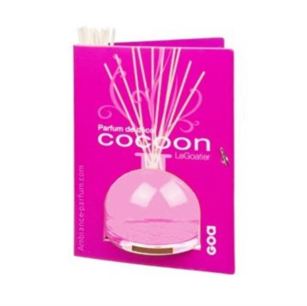 Diffuseur de parfum Cocoon Poudre de soie CLEM GOA 250ml