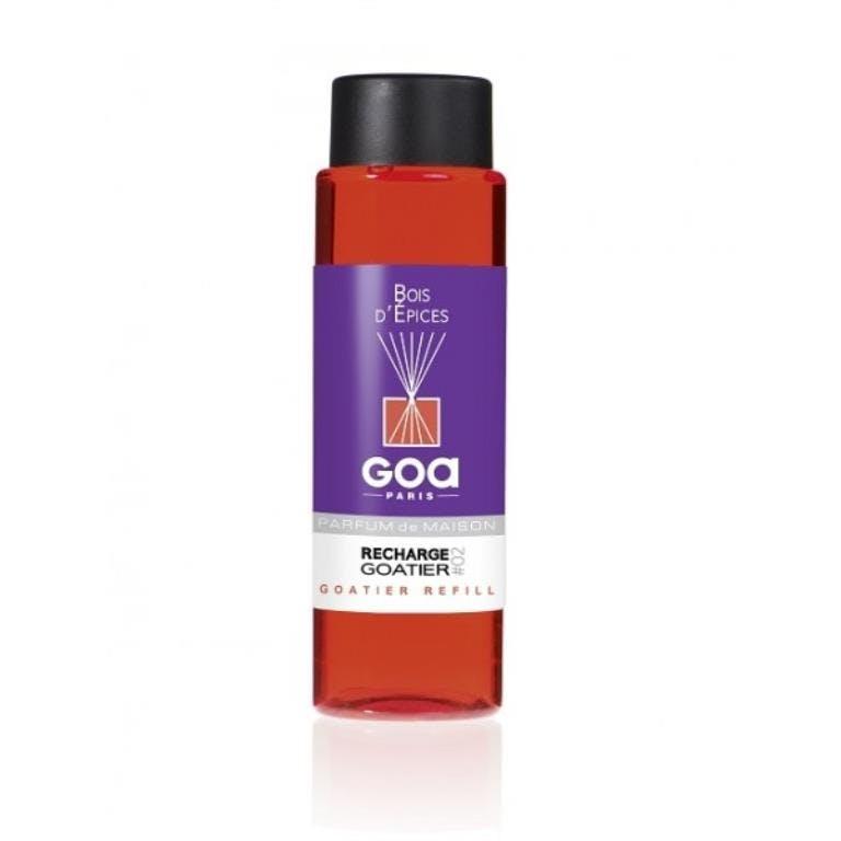 Recharge Bois d'Epices pour diffuseur de parfum CLEM GOA 260ml