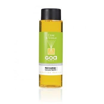 Recharge Cèdre et Vanille pour diffuseur de parfum CLEM GOA 260ml