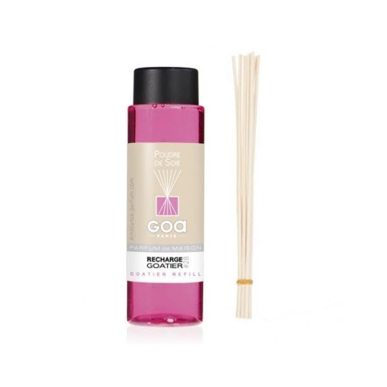 Recharge Poudre de soie pour diffuseur de parfum CLEM GOA 260ml