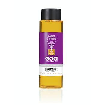 Recharge Ambre Suprême pour diffuseur de parfum CLEM GOA 260ml